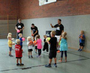 Ballschule für Kinder von 3-10 Jahre